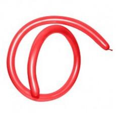 Red Metallic 160T Modelling Latex Balloons