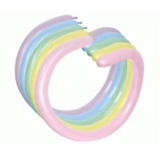 Multi Colour Pastel ed 260T Modelling Latex Balloons