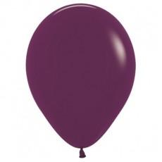 Burgundy Fashion Latex Balloons