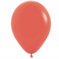 Coral Party Decorations - Latex Balloons Fashion Coral 30cm 100pk