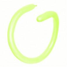 Green Neon 260T Modelling Latex Balloons