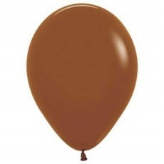 Brown Fashion Caramel  Latex Balloons