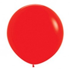Fashion Red Latex Balloons 90cm Pack of 2