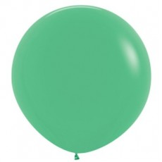 Fashion Green Latex Balloons 90cm Pack of 2