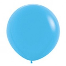 Fashion Blue Latex Balloons 90cm Pack of 2
