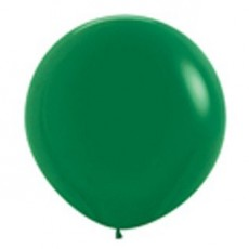 Fashion Forest Green Latex Balloons 90cm Pack of 2