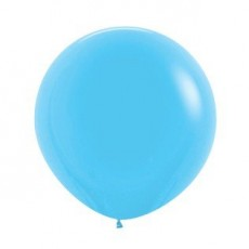 Blue Fashion Light  Latex Balloons
