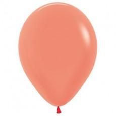 Teardrop Neon Orange Latex Balloons 12cm Pack of 50