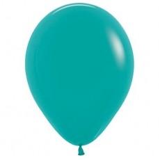 Green Fashion Turquoise  Latex Balloons