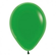 Green Crystal  Latex Balloons