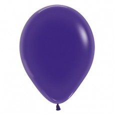 Purple Crystal  Violet Jewel Latex Balloons