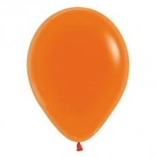Orange Crystal Jewel Latex Balloons
