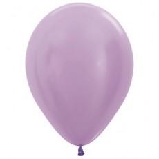 Lilac Pearl Satin  Lavender  Latex Balloons