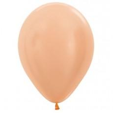 Blush Pearl Satin Peach  Latex Balloons