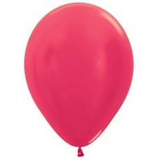 Magenta Metallic Fuchsia  Latex Balloons