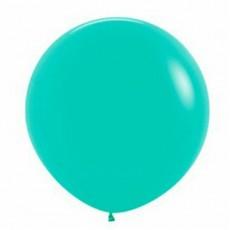 Fashion Aquamarine Green Latex Balloons 90cm Pack of 2