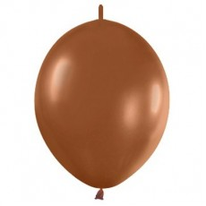 Brown Fashion Caramel  Link O Loon Latex Balloons