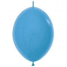 Blue Neon  Link O Loon Latex Balloons