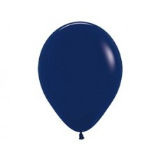 Blue Fashion Navy  Latex Balloons