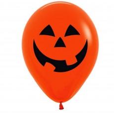Halloween Fashion Orange Pumpkin Latex Balloons