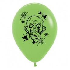 Halloween Fashion Lime Green  Latex Balloons