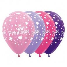 Princess Party Decorations - Latex Balloons Satin Pearl Metallic 25pk