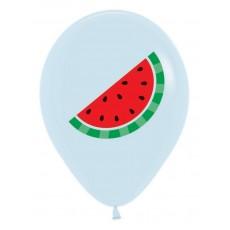 Hawaiian Party Decorations Watermelon on Fashion White Latex Balloons