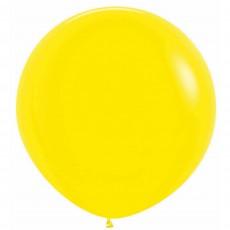 Yellow Fashion  Latex Balloons
