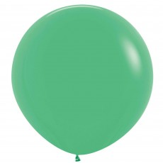 Fashion Green Latex Balloons 60cm Pack of 3
