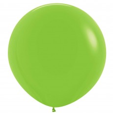 Fashion Lime Green Latex Balloons 60cm Pack of 3