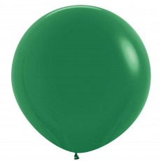 Fashion Forest Green Latex Balloons 60cm Pack of 3