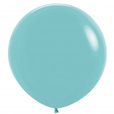 Fashion Aquamarine Green Latex Balloons 60cm Pack of 3