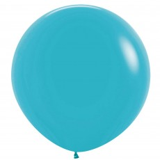 Blue Fashion Caribbean  Latex Balloons