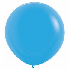 Fashion Blue Latex Balloons 60cm Pack of 3