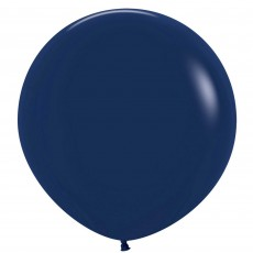 Fashion Navy Blue Latex Balloons 60cm Pack of 3