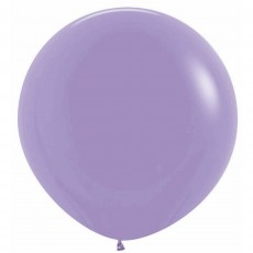 Lilac Party Decorations - Latex Balloons Fashion Lilac 60cm