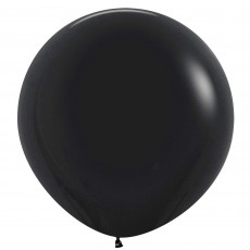 Black Fashion  Latex Balloons