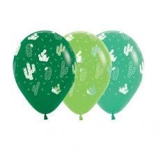 Mexican Fiesta Cactus Fashion Cactus Fashion Latex Balloons