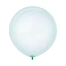 Green Crystal Pastel  Latex Balloons