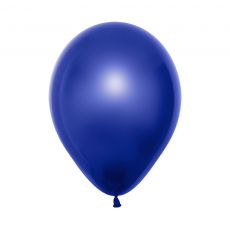 Blue Crystal Duo Double Stuffed Latex Balloons