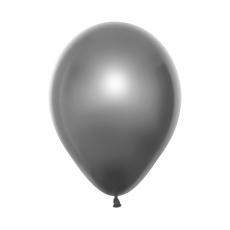 Silver Fashion & Satin Duo Double Stuffed Latex Balloons