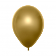 Gold Duo Double Stuffed Latex Balloons