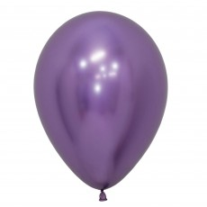 Purple Metallic Reflex Violet  Latex Balloons