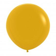 Yellow Fashion Mustard  Latex Balloons