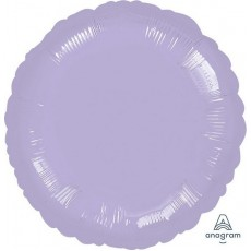 Lilac Party Decorations - Foil Balloon Metallic Pearl Pastel Lilac