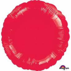 Red Metallic Standard HX Foil Balloon
