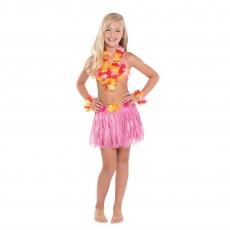 Hawaiian Party Decorations Hula Skirt Kit ii Child Costumes