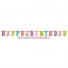 Sweet Stuff Jumbo Letter Banner Decorating Kit