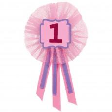 Girl's 1st Birthday Party Supplies - Award Ribbon