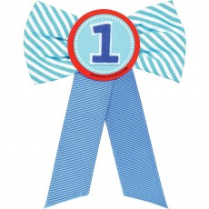 Boy's 1st Birthday Ribbon Award
